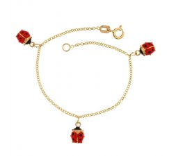 Yellow gold girl's bracelet 803321712051