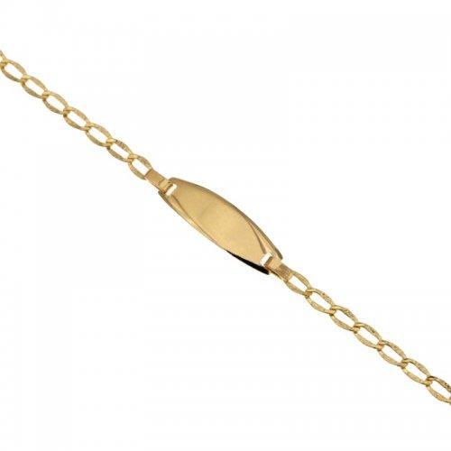 Bracciale per bambini in oro giallo 803321710930