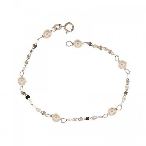 White gold girl's bracelet 803321705145