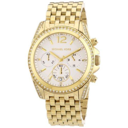 Orologio MICHAEL KORS da donna Collezione Pressley MK5835 dorato