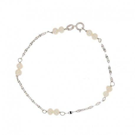 White gold girl's bracelet 803321724482