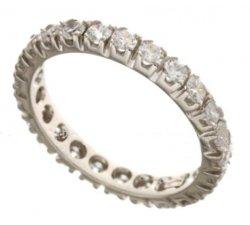 Women's Eternity Ring White Gold 803321702980