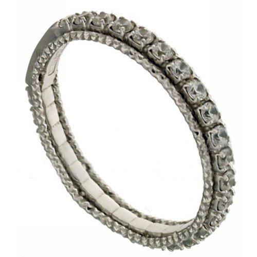Women's Eternity Ring White Gold 803321722404
