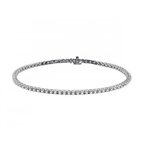SALVINI Tennis bracelet in white gold and diamonds Ct 0,40 Ref. 20057132