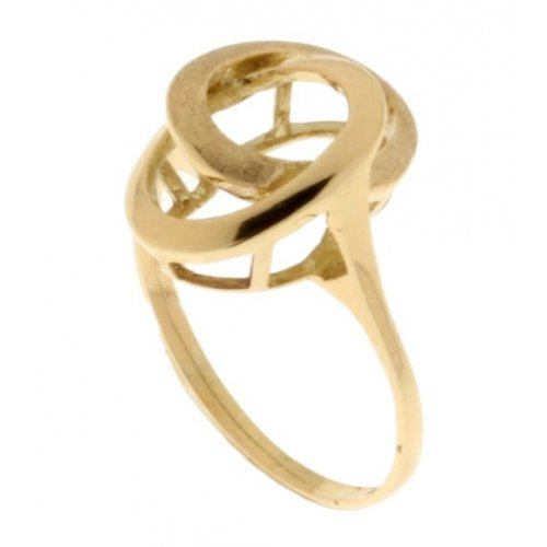 Yellow Gold Woman Ring 803321712946