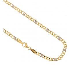 Collana Uomo in Oro Giallo e Bianco 803321700278