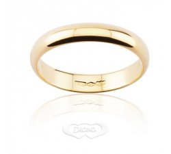 DIANA Wedding Ring 4 grams Yellow Gold Classic Wide Band