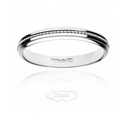 Diana ring in 18 kt white gold FD9N3OB