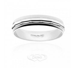Diana ring in 18 kt white gold AF181OBM4