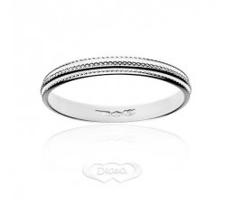 Diana ring in 18 kt white gold FD14N3OB