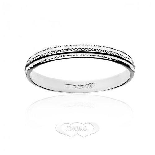 Diana ring in 18 kt white gold FD14N3OB