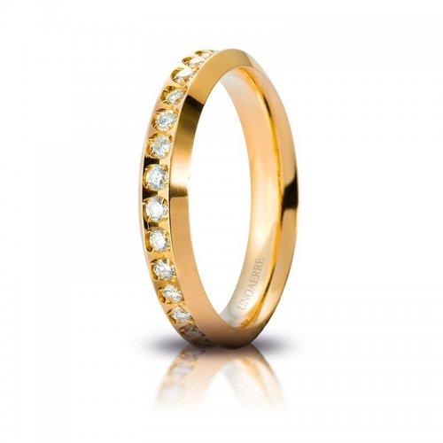 Unoaerre Venus Yellow Gold Wedding Ring Anniversaries