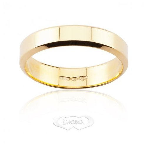 DIANA Wedding Ring Yellow Gold TGL7 OG
