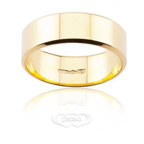 DIANA Wedding Ring Yellow Gold French TGLBE OG