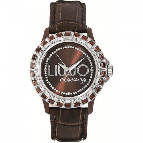 Orologio LIU JO Luxury da donna Collezione Baguette TLJ162 Marrone