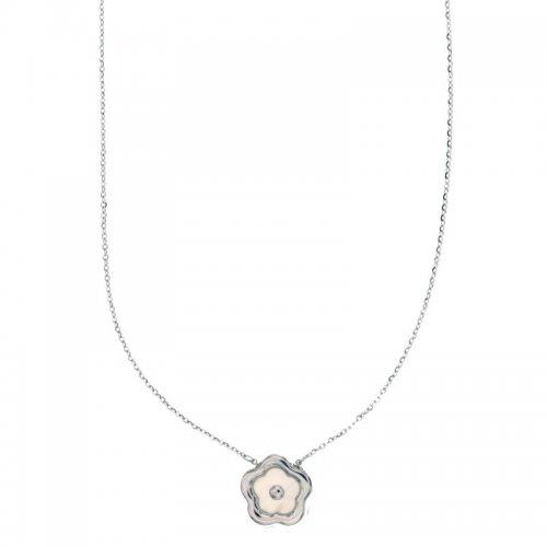Collana Donna in Oro Bianco 803321735172