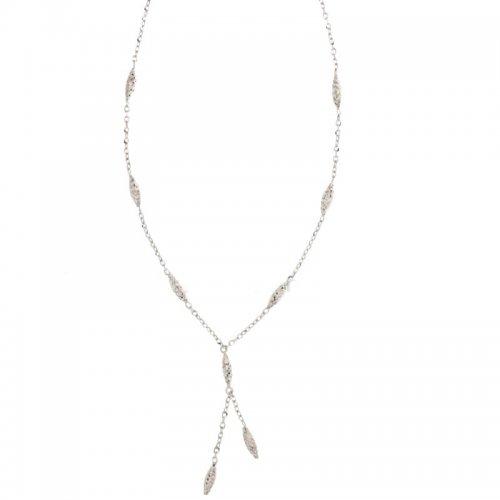 Collana Donna in Oro Bianco 803321708922