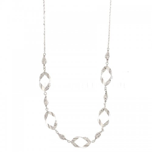 White Gold Woman Necklace 803321724155