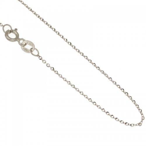 Collana Donna in Oro Bianco 803321710087