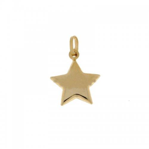 Ciondolo stella oro giallo 803321713673