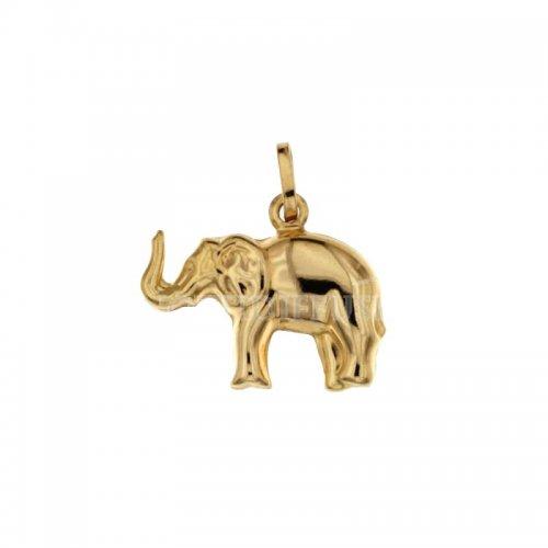 Ciondolo elefante oro giallo 803321713671