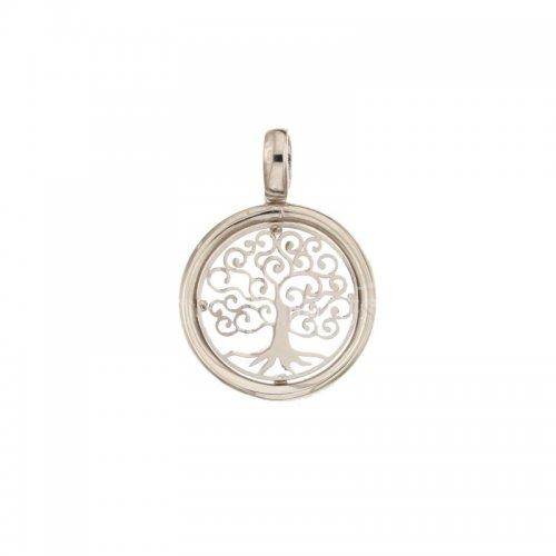 Ciondolo albero della vita oro bianco 803321733342