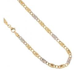 Collana Uomo in Oro Giallo e Bianco 803321714653