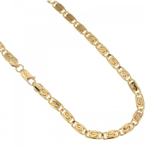 Yellow Gold Men's Necklace 803321725929