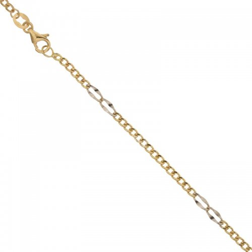 Men's Bracelet in Yellow and White Gold 803321713081