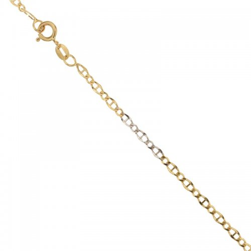 Men's Bracelet in Yellow and White Gold 803321735177