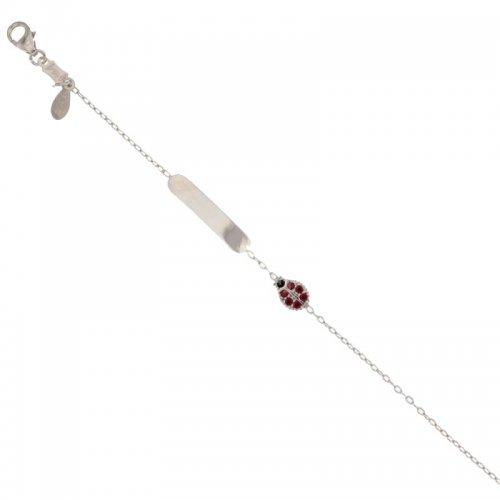 White gold girl's bracelet 803321729093