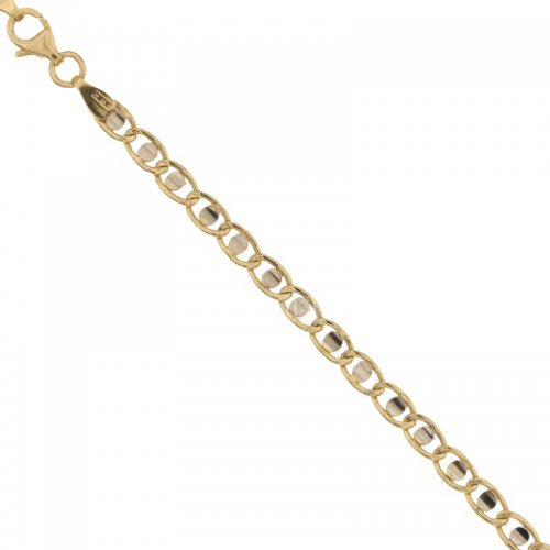 Men's Bracelet in Yellow and White Gold 803321732830