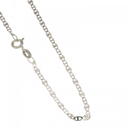 Unisex Necklace in White Gold 803321719582