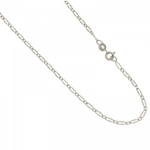 Collana Unisex in Oro Bianco 803321720842