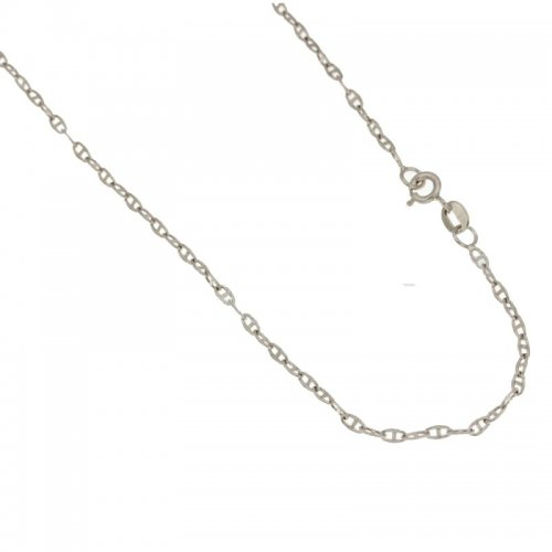 Collana Unisex in Oro Bianco 803321720918
