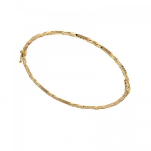 Bracciale rigido donna in oro giallo 803321728646