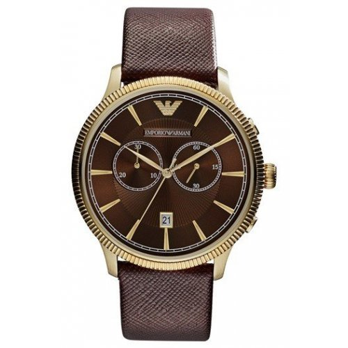 EMPORIO ARMANI Men's Watch AR1793 Classic Golden gold steel