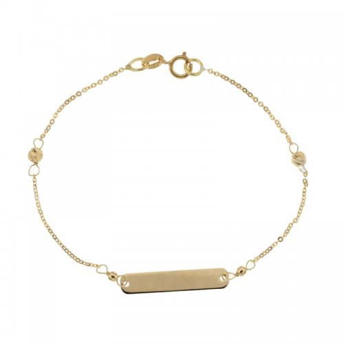 Children's bracelet in yellow gold 803321730053