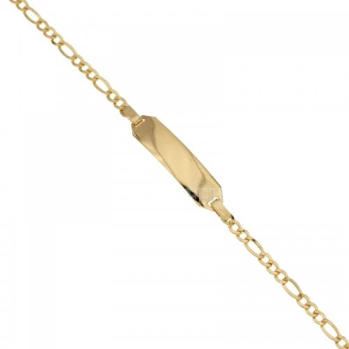 Yellow Gold Children's Bracelet 803321703777