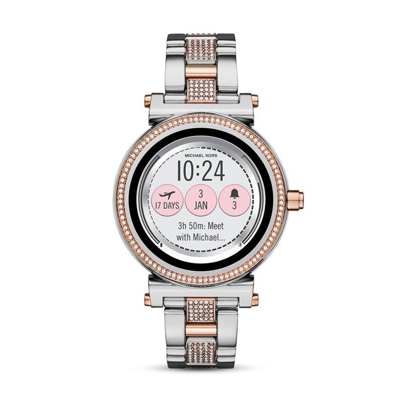 orologio smartwatch michael kors donna sofie mkt5040. Black Bedroom Furniture Sets. Home Design Ideas