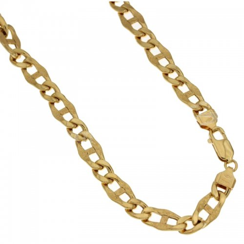 Yellow Gold Men's Necklace 803321720833