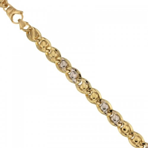 Men's Bracelet in Yellow and White Gold 803321732392