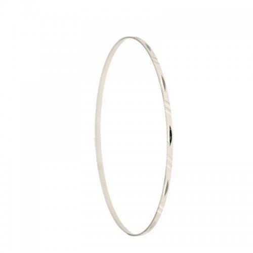 Rigid bracelet for women in white gold 803321718899