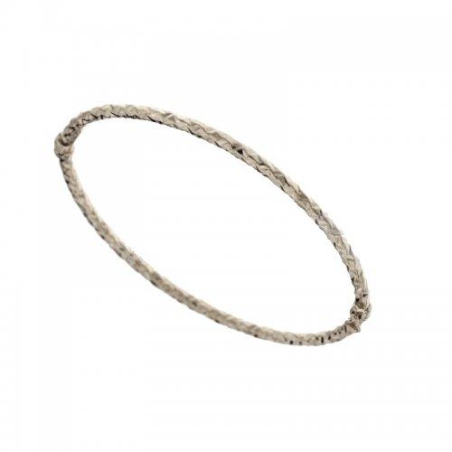 Rigid bracelet for women in white gold 803321728685