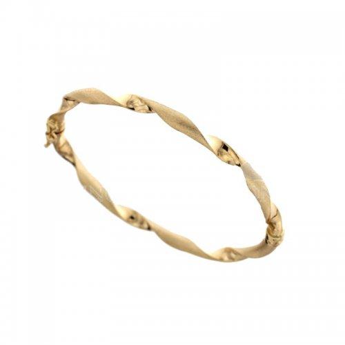 Bracciale rigido donna in oro giallo 803321711543