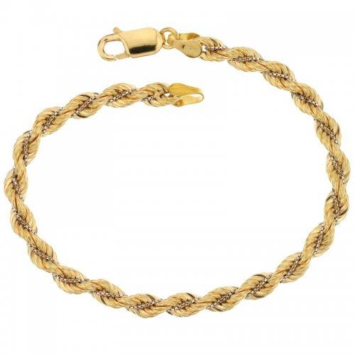 Bracciale donna in oro bicolore 803321718569