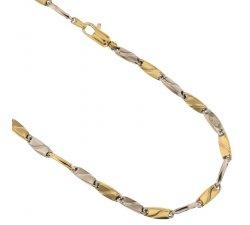 Collana Uomo in Oro Giallo e Bianco 803321717938