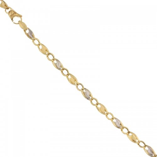 Bracciale Uomo in Oro Giallo e Bianco 803321729939