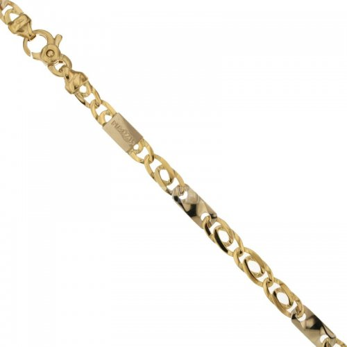 Men's Bracelet in Yellow and White Gold 803321735577