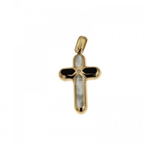 Croce unisex in Oro giallo 803321721367